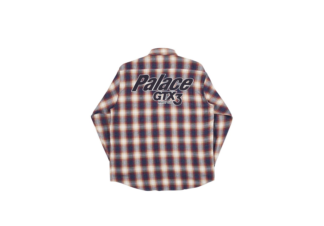 d8bba857 Next we have the Palace Splitter Longsleeve Tee, which has a color blocking  and a big Palace logo on the backside. Unfortunately I didn't manage to  grab one ...