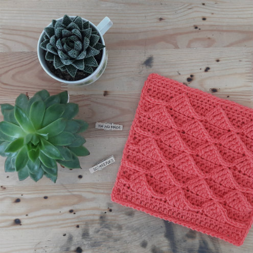 Squares, Scheepjes CAL 2016 | Happy in Red