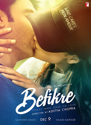 Befikre 2016 Hindi DVDScr 700mb