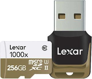 Lexar تعلن عن بطاقة ذاكرة للكاميرات الرياضية والهواتف الذكية
