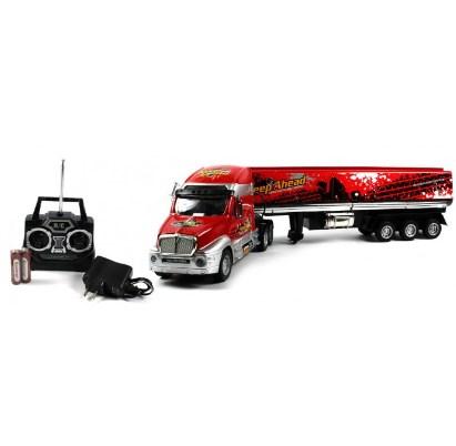 truk remot mainan panjang
