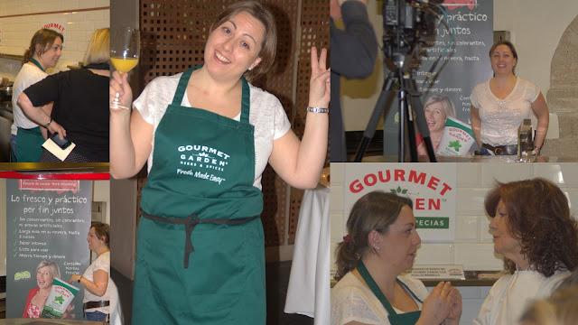 fotografías del evento gourmet garden