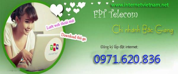 Lắp Đặt Internet FPT Thành Phố Bắc Giang