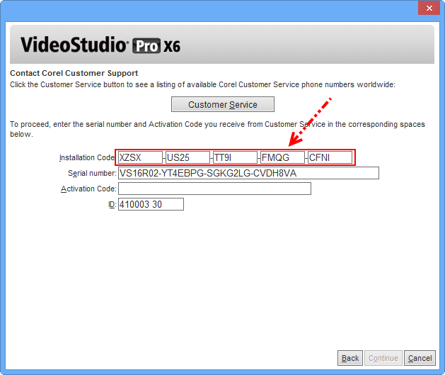 videostudio pro x6 serial number