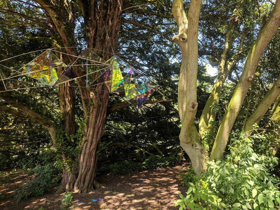 Cheeseburn Sculpture Gardens Review | Opening Dates & Top Tips for Visiting  - rainbow sculpture