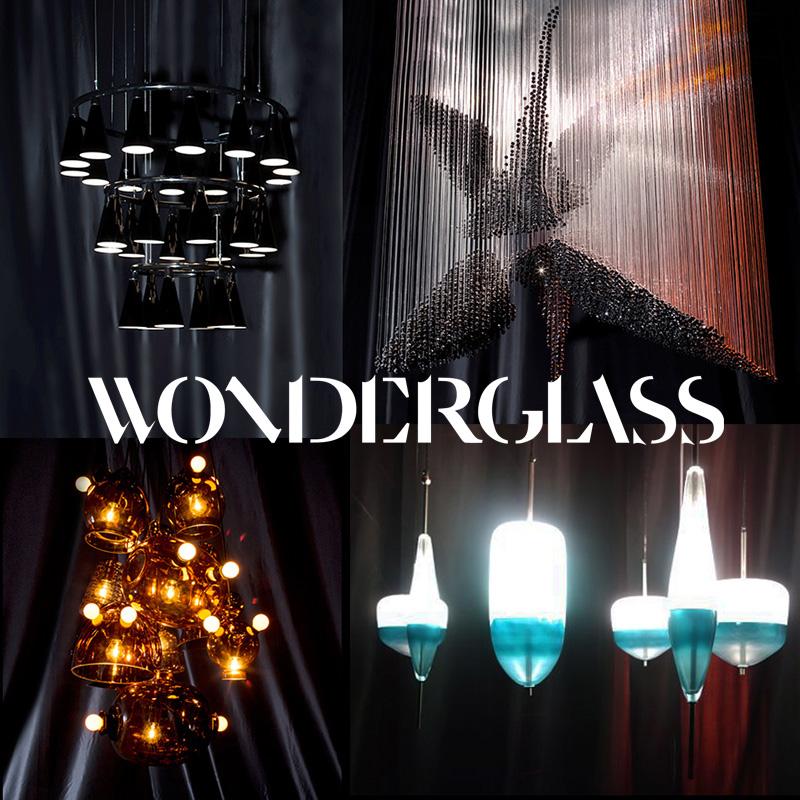 Wonderglass: Collaborative Modern Chandeliers