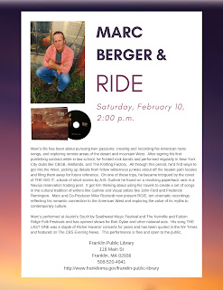 Franklin Public Library: Marc Berger - RIDE - Feb 10