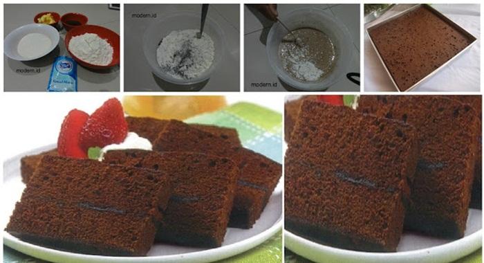 Resep Membuat Brownies Kukus Ekonomis Cukup 15rb Tanpa Telur Tanpa Mixer Anti Gagal