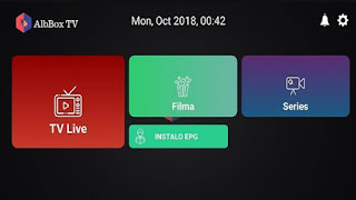 Android ile iptv izleme AlbBox TV