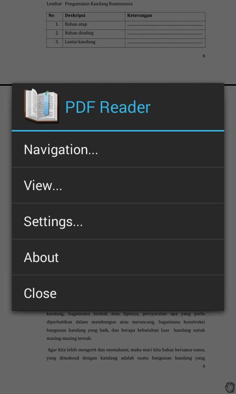 Cara membuka/membaca ebook pada android | Tempatnya