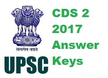 CDS 2 2017 Answer Keys (All sets) - Download