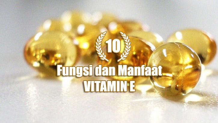 Manfaat Vitamin E bagi kesehatan