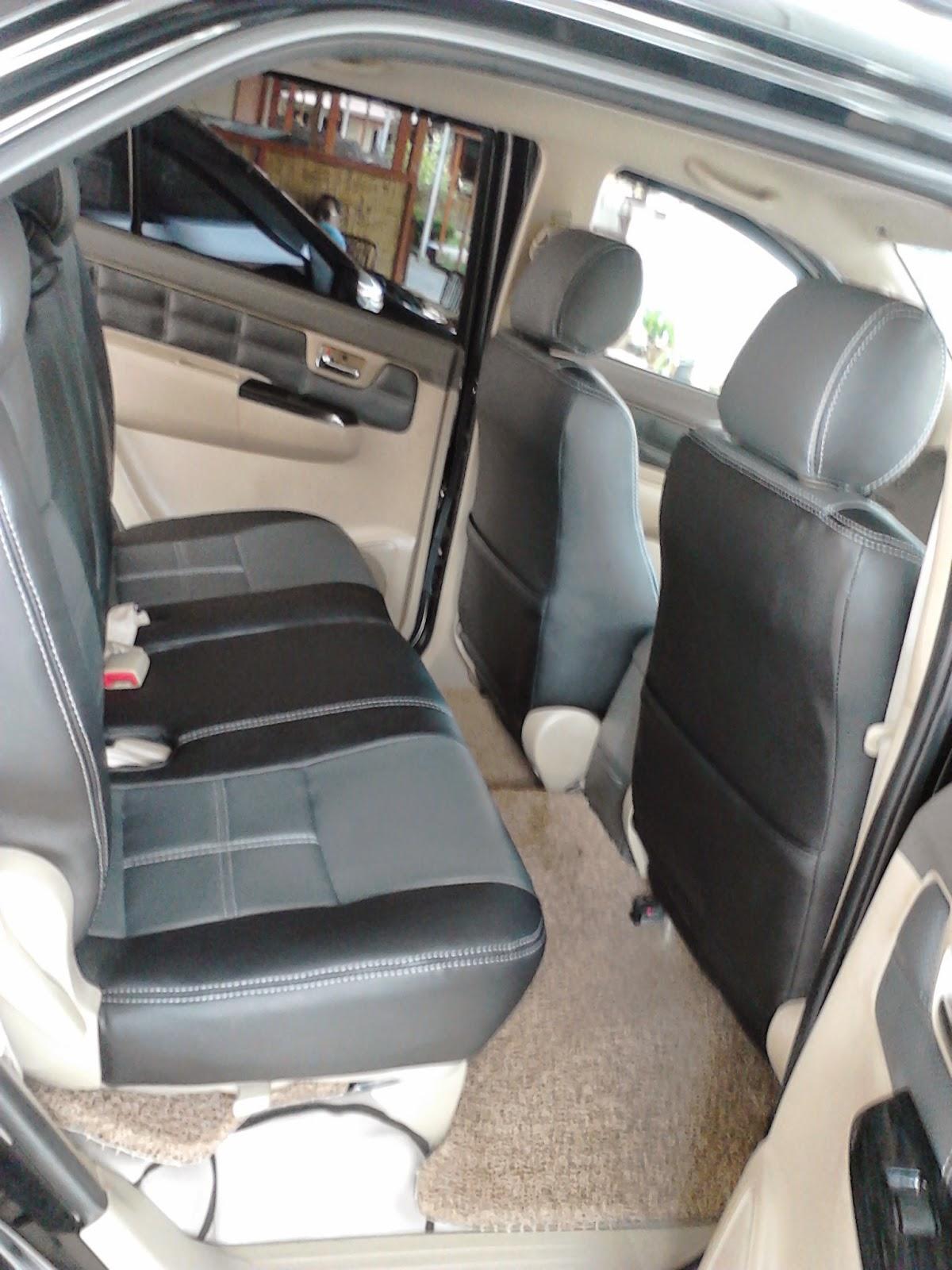 Gambar Sarung Jok Mobil Fortuner Mbtech Camaro Black