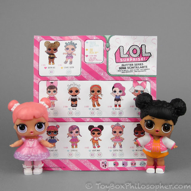 LOL surprise Doll Center Stage Glitter Rare Doll