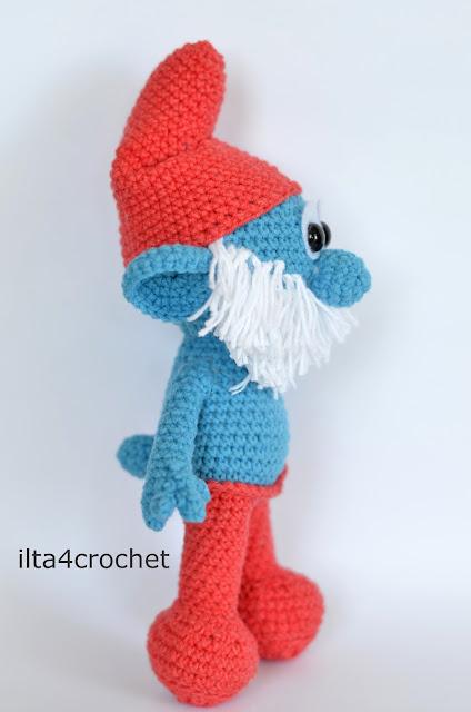 Crochet Papa Smurf