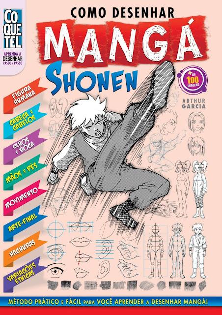 Como Desenhar Mangá Shonen Edição 2 - Arthur Garcia