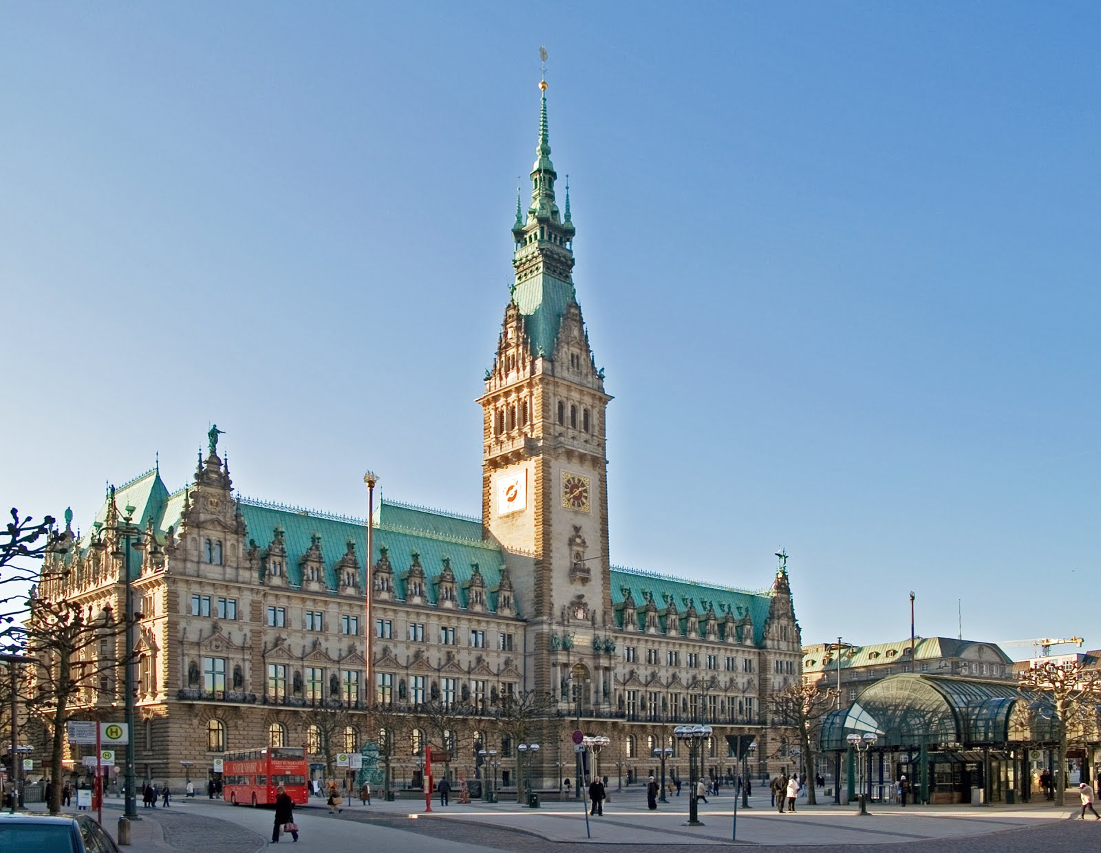 prefeitura de Hamburgo