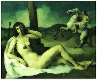 Aldo Malagoli - Composição com Figura (1949)