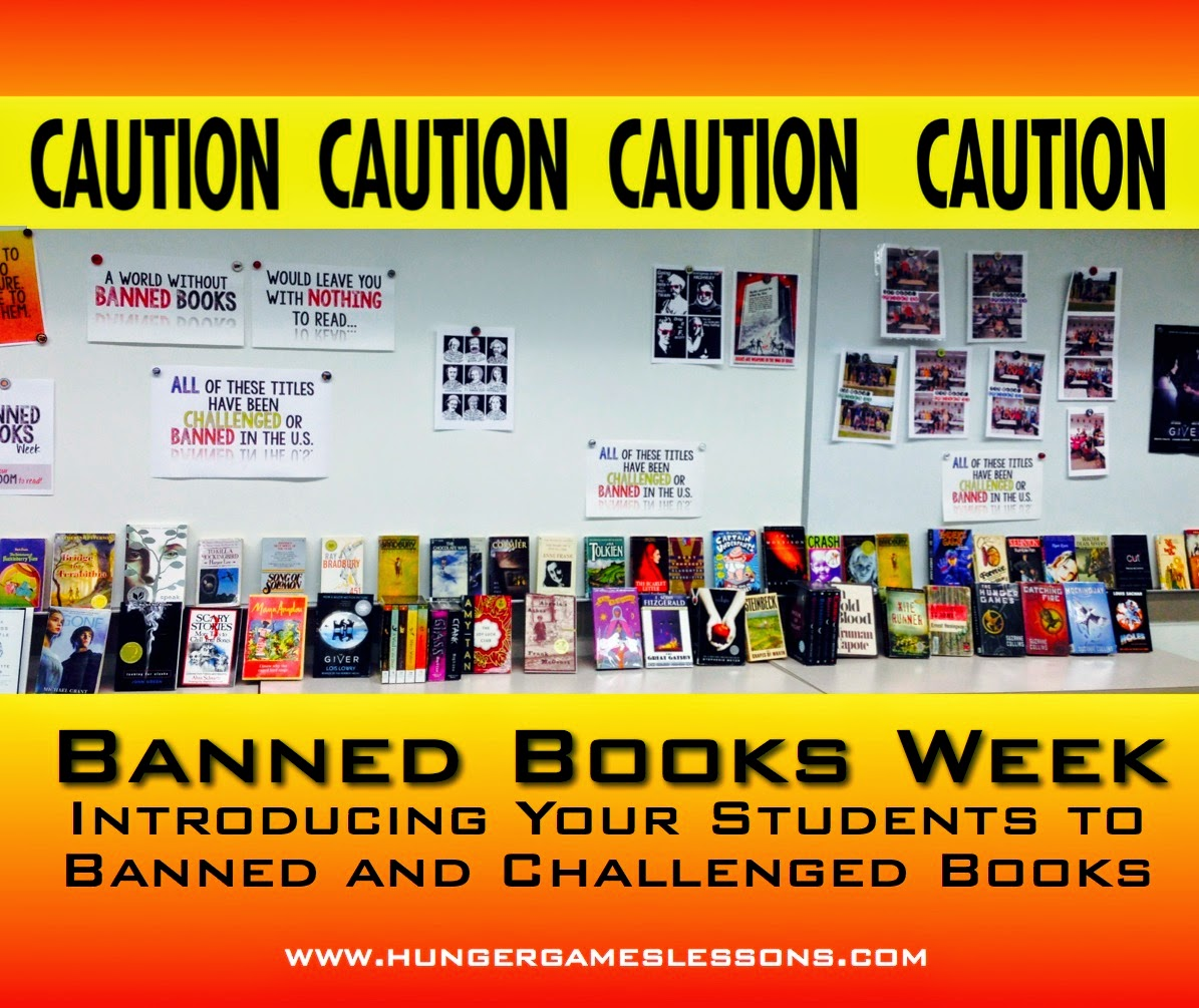 Introduce your students to banned books
