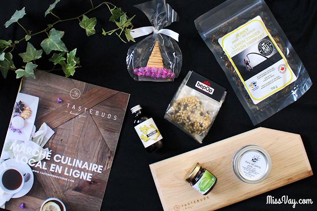 Le nouveau «marché culinaire» en ligne TasteBuds Boutique