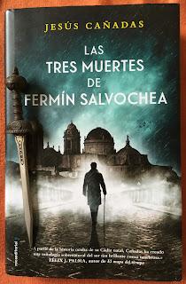 Portada del libro Las tres muertes de Fermín Salvochea, de Jesús Cañadas