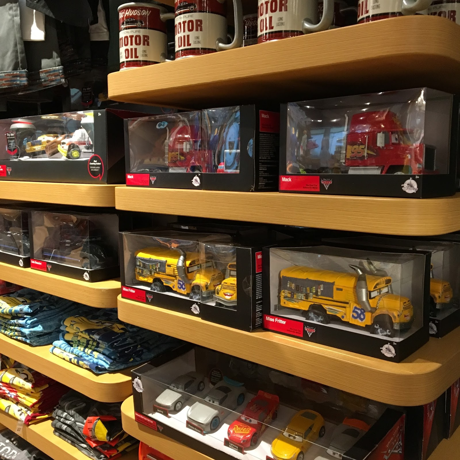 Dan The Pixar Fan Events Disney Store Cars 3 Merch Release Phase