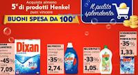 Logo Con ''Il Pulito Spendente'' di Henkel vinci 50 buoni spesa da 100€