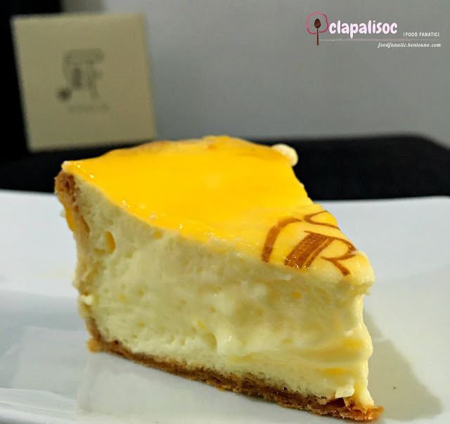Cheese Tart from Pablo Robinson's Place Manila