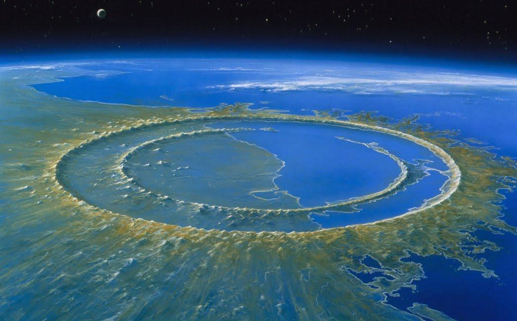 Dinosauri sterminati da enorme Tsunami provocato da un impatto Asteroide.