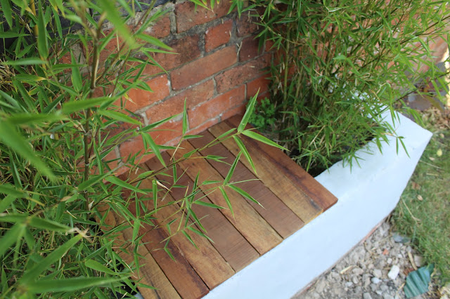 asian inspired garden planter