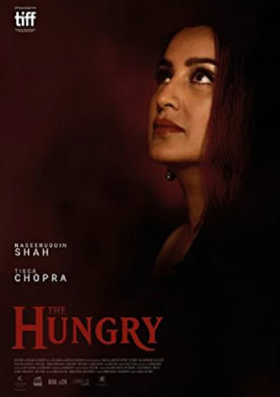 Poster of The Hungry 2017 Full Hindi Movie Download HDRip 720p