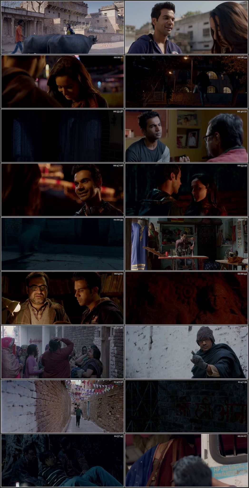 Screen Shot Of Stree  2018 Full Movie Free Download HD 720P Watch Online
