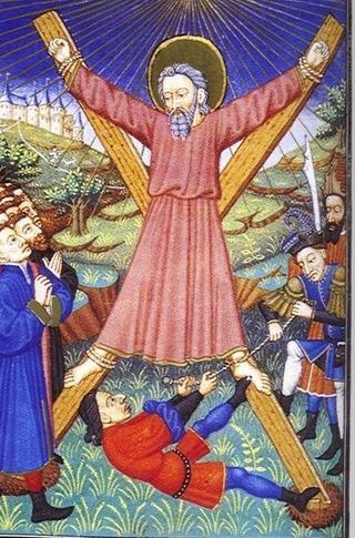 Crucifixion of St.Andrew.