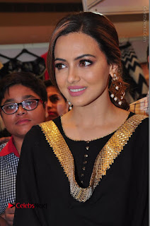 Bollywood Actress Sana Khan Launches Aakrithi Exibition  0091.JPG