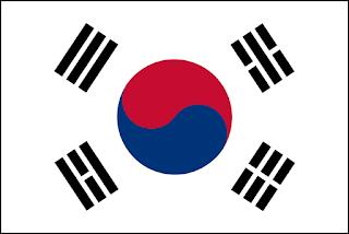 Le Chameau Bleu - Blog Gastronomie Restaurant Coréen Mee - Drapeau coréen