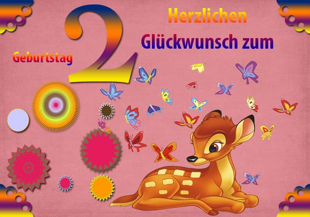 Glückwünsche 2 Geburtstag Glückwünsche Zum Geburtstag