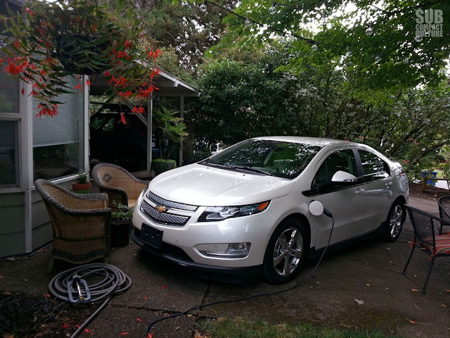 Charging the Chevrolet Volt at home