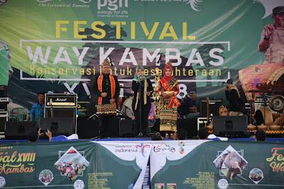 Festival Way Kambas ke-XVIII Tahun 2018 Resmi Dibuka