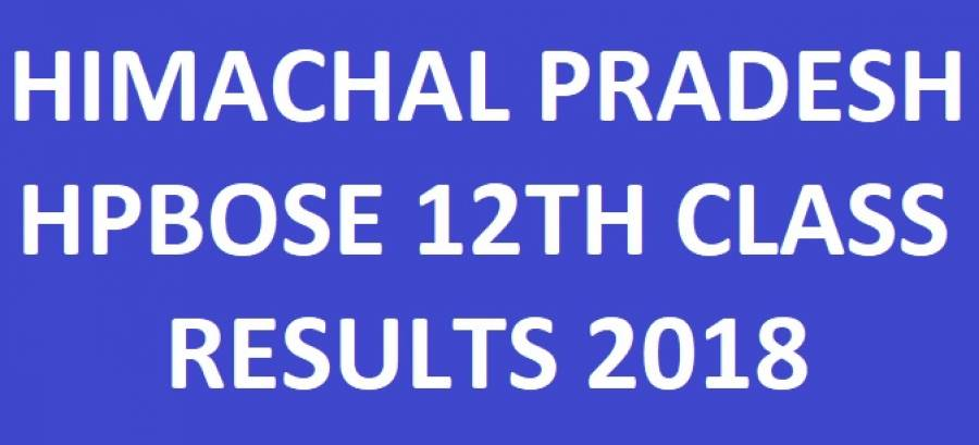 HPBOSE 12th Class Result
