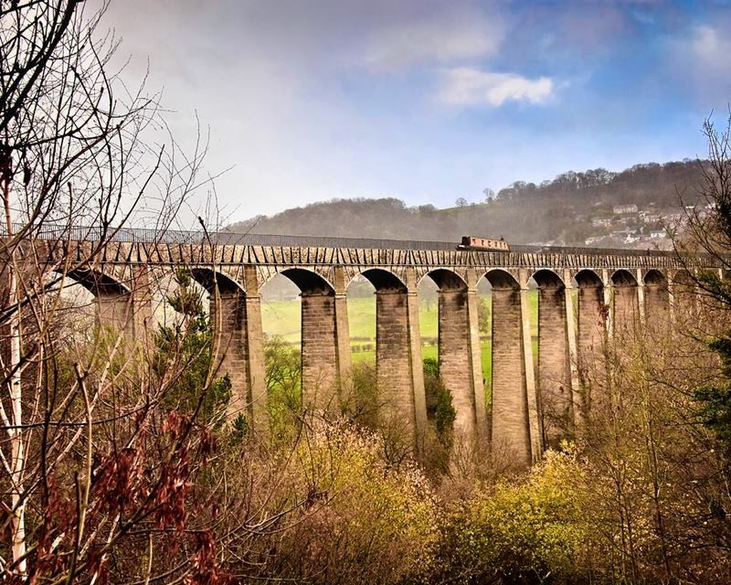 The Pontcysyllte Aqueduct is a navigable aqueduct that carries the Llangollen Canal over the valley of the River Dee in Wrexham County Borough in north Wales.