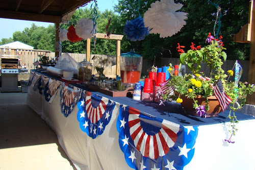 4th Of July Party Buffet Ideas