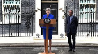 η Βρετανίδα Πρωθυπουργός Τερέζα Μέι