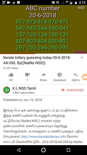 kerala lottery guessing today, akshaya ak-350, on 20-06-2018, kerala lottery guessing by raja naina, kerala lottery prediction,