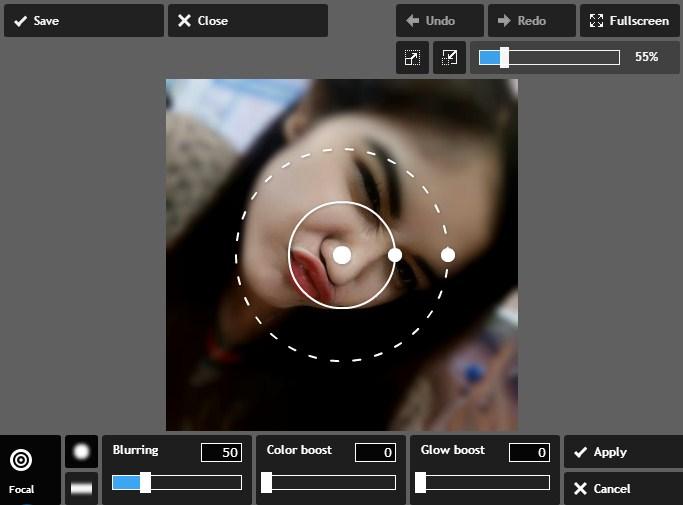 Cara Cepat Membuat Efek Square Blur