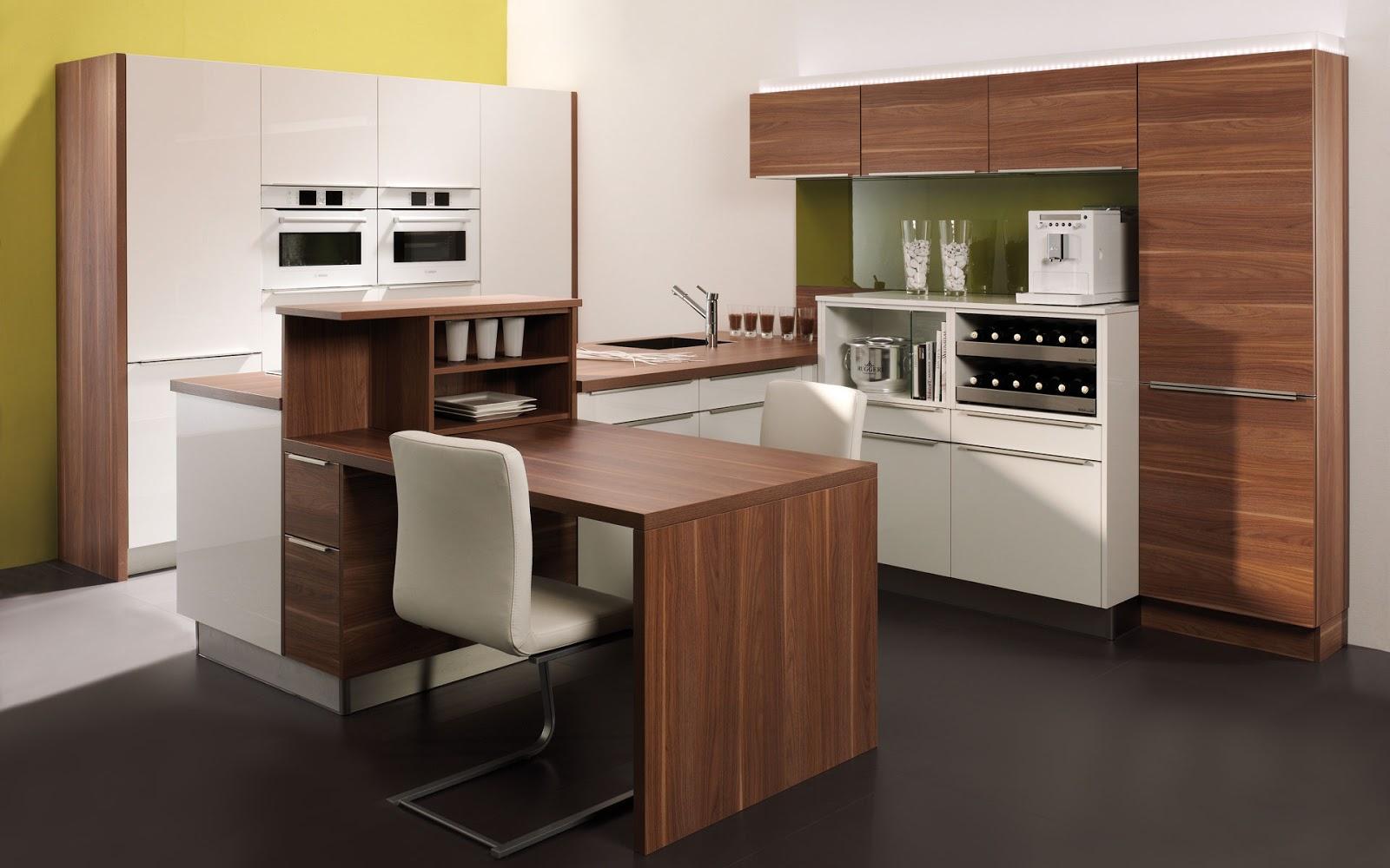 30 ideas de mesas y barras para comer en la cocina for Cocinas modernas pequenas para apartamentos con desayunador