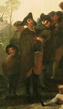 Ciego de la guitarra, por Goya