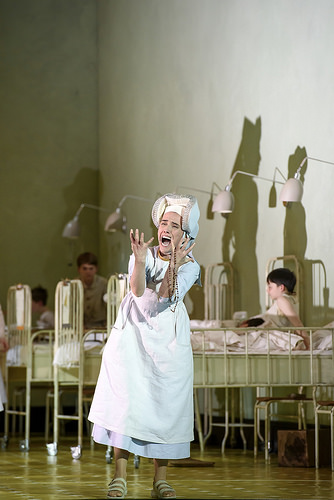 Ermonela Jaho as Sister Angelica in Suor Angelica © ROH 2016. Photograph by Bill Cooper