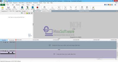 videopad video editor pro terbaru untuk edit video dengan mudah dan bagus
