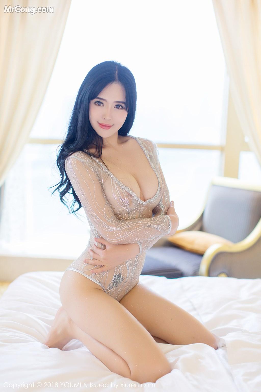 Image YouMi-Vol.124-Liu-Yu-Er-MrCong.com-013 in post YouMi Vol.124: Người mẫu Liu Yu Er (刘钰儿) (41 ảnh)