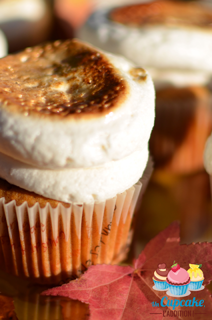 Cupcakes Patate Douce et Marshmallow